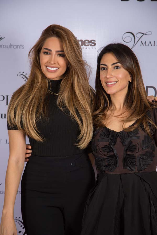 Fouz Al Fahad and founder of PurplePatchouli, Mariam Abdulrahim